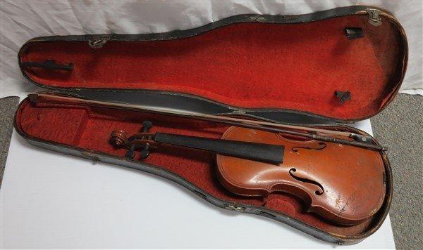 Violin & Brass Horn