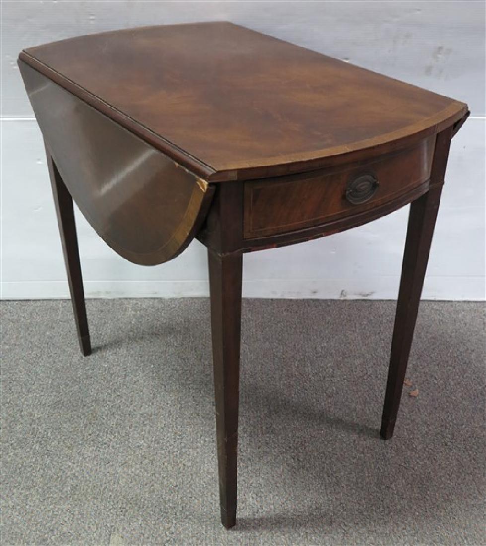 Custom 1 Drawer Pembroke Stand
