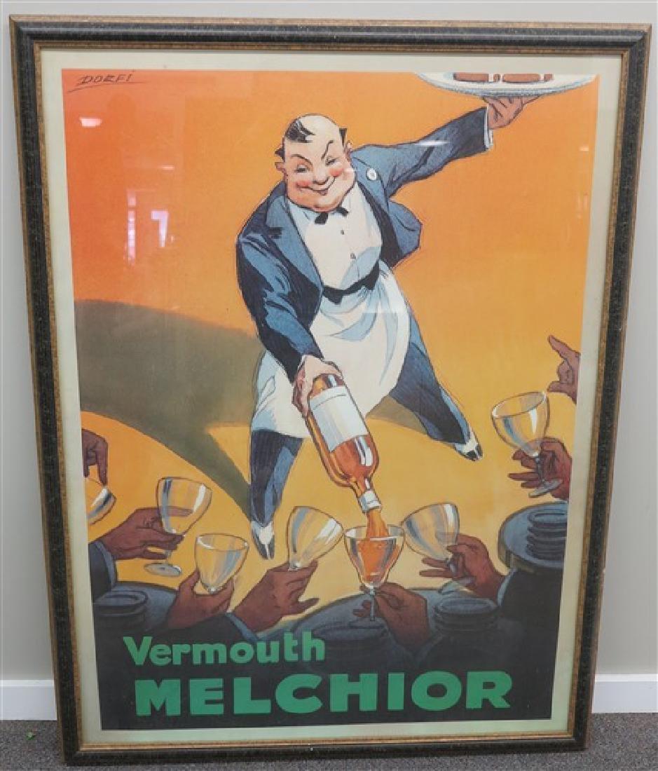 Framed Dorfi Poster