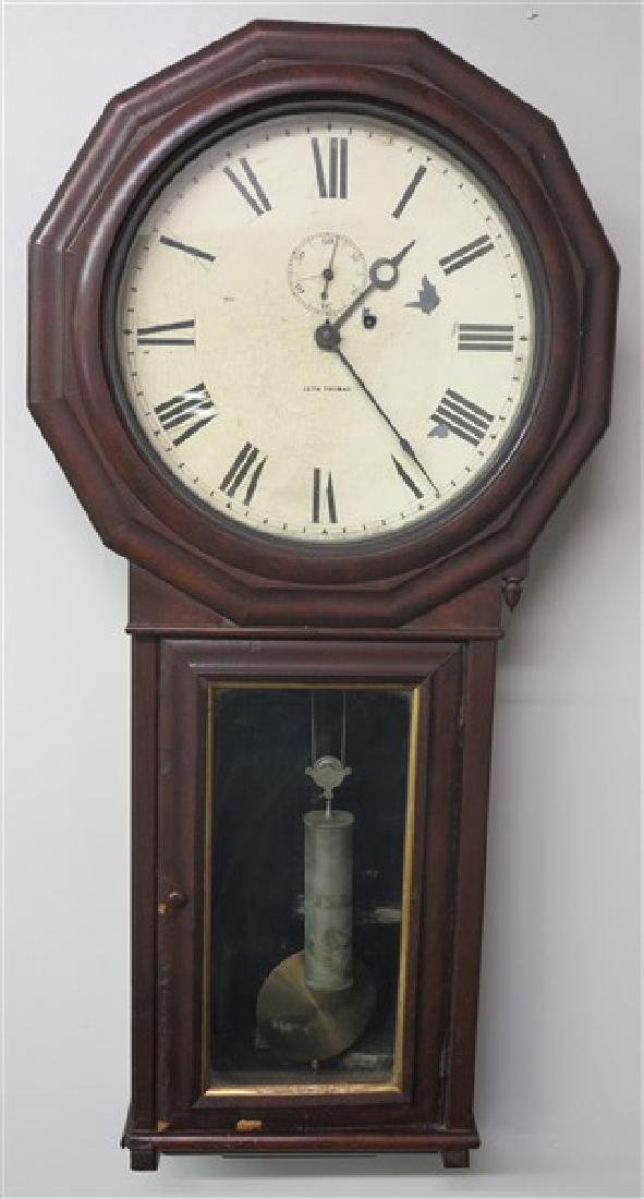 Single Weight Seth Thomas Wall Clock