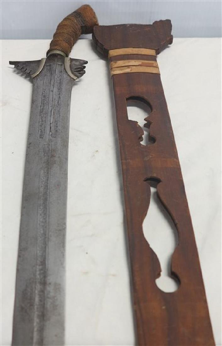 Short Sword in Wooden Sheath