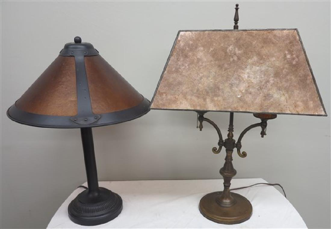 4 Pc. Lot- 2 Lamps, 2 Sconces