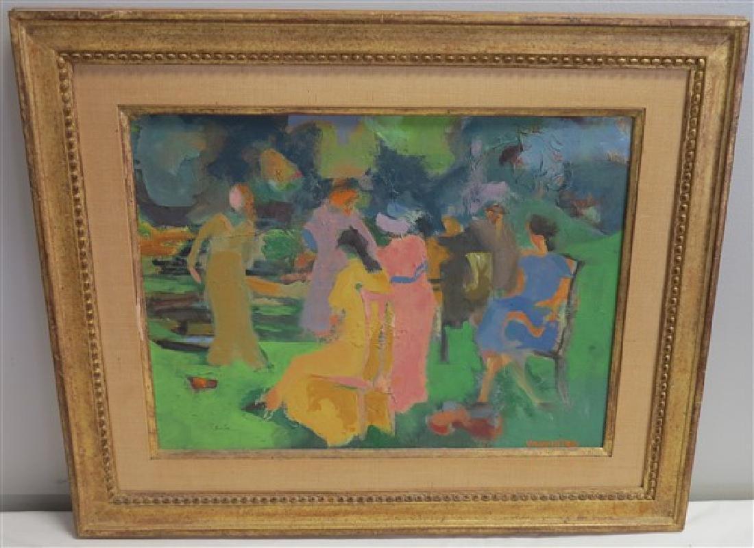 Impressionist o/b signed Valenstein