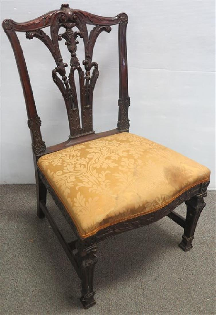 19th Cent Chippendale Side chair