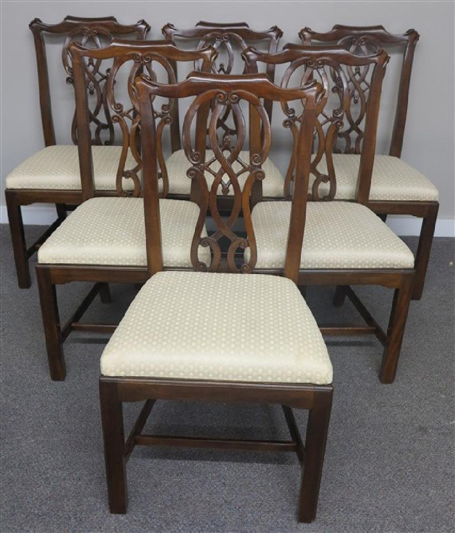 6 Drexel Chippendale Chairs