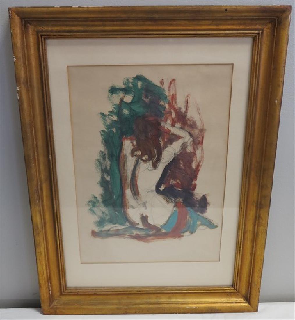 Framed Nude Study ATTR- Henri