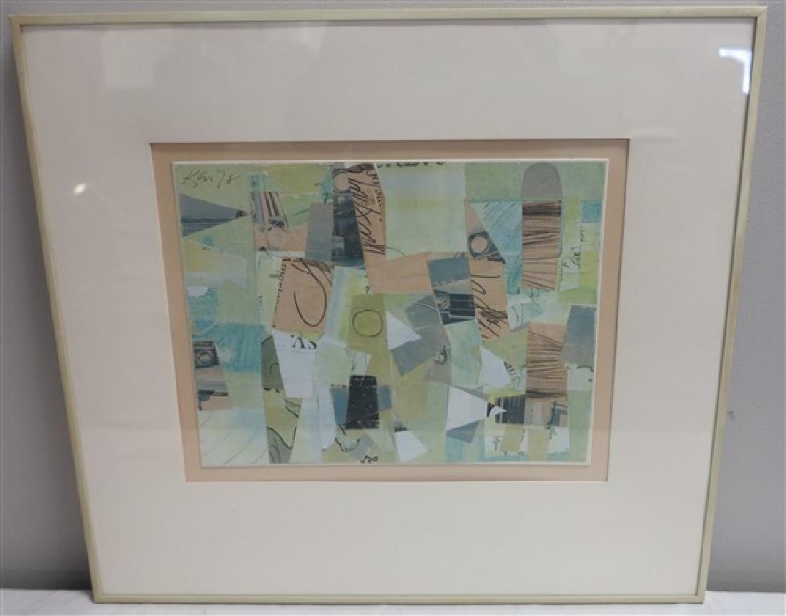 Keith Martin Abstract 1978