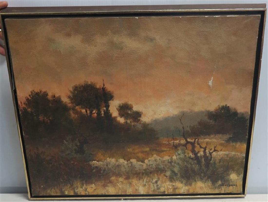 o/c Landscape signed Sandrini 1965