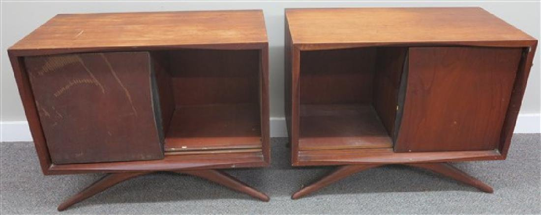 2 Mid Century Night Stands
