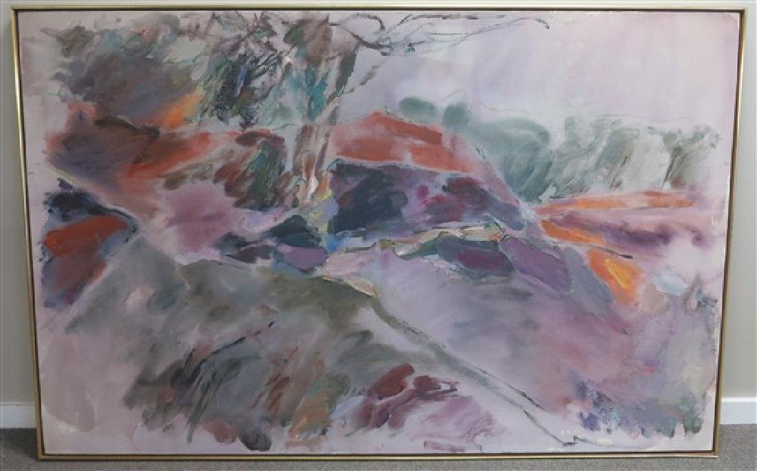 "o/c Maryann Harman 55"" x 85"""