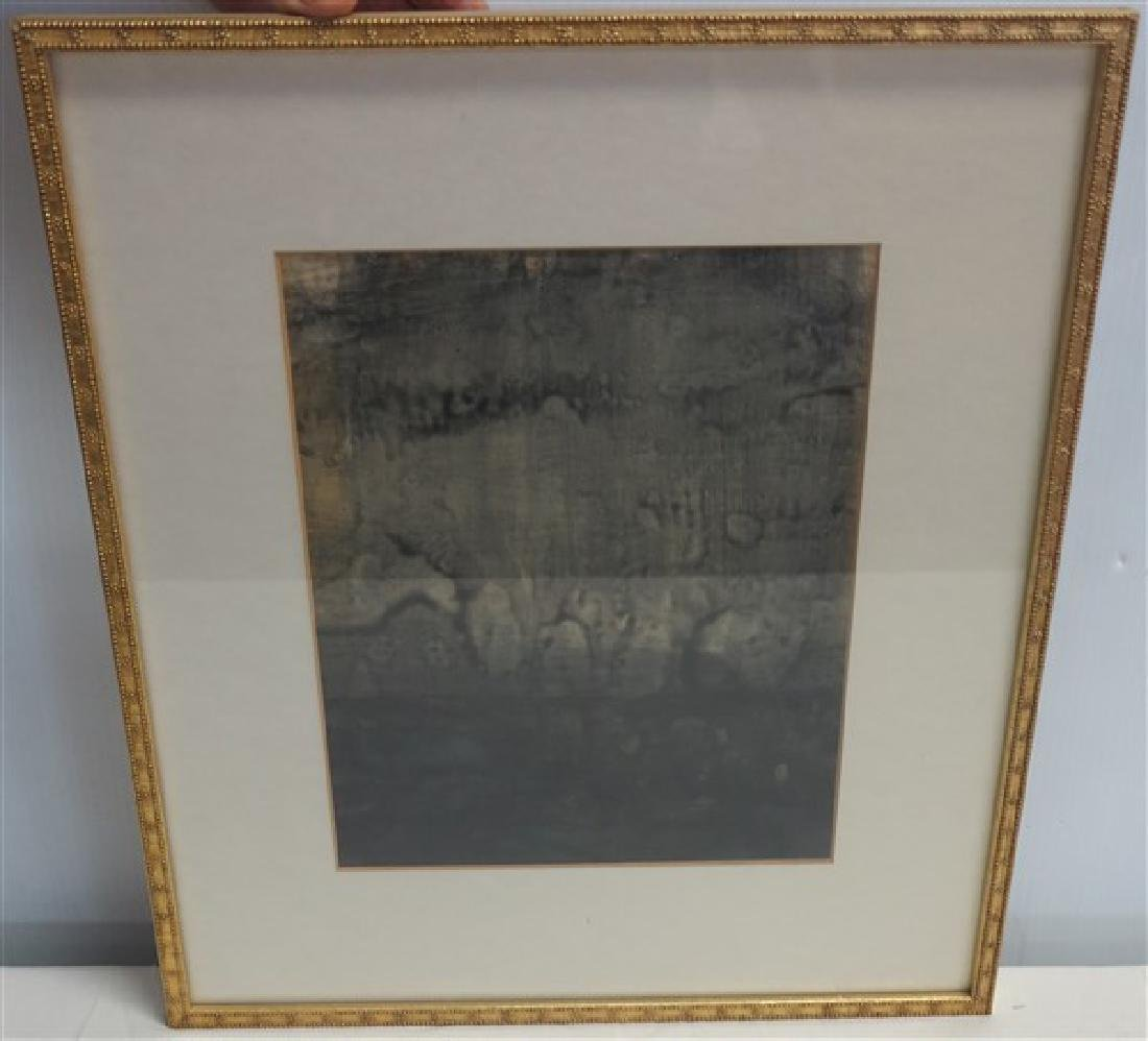 Framed Signed Drawing