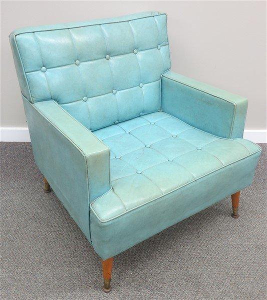 Mid Century Chair & Jackknife Sleeper Sofa