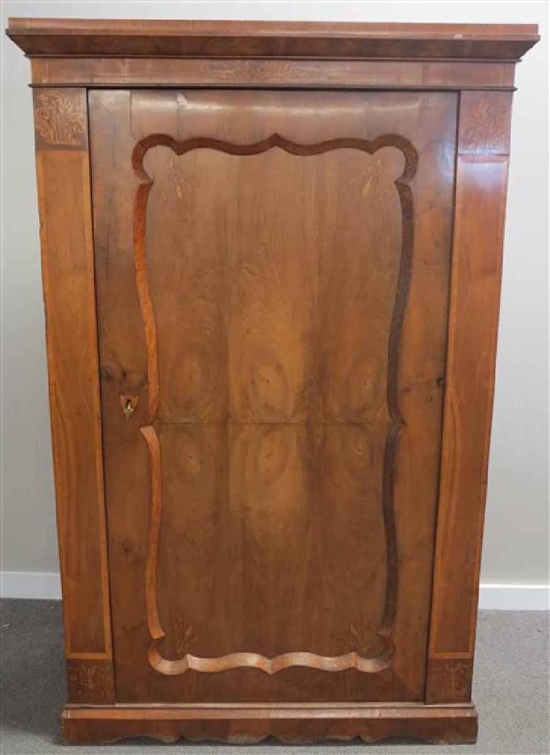 1 Door Beidermeir Cabinet