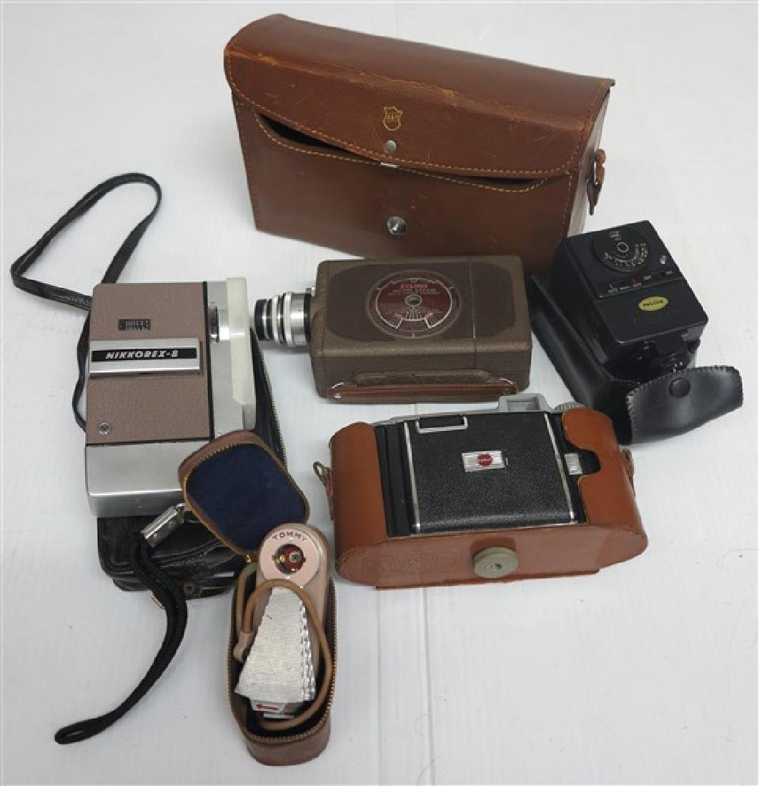 Bell & Howell Movie Camera, Kodak Camera & More