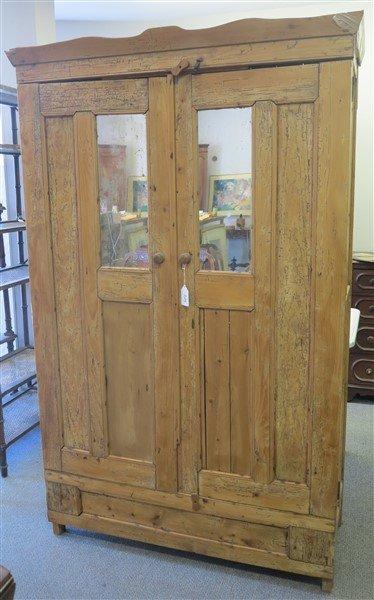 Pine 2 Door Cabinet/Murphy Bed