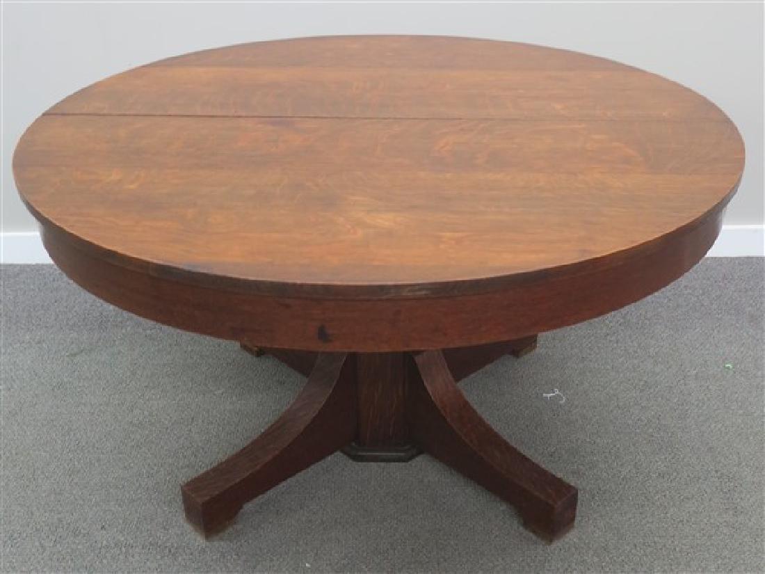 Art & Crafts Oak Dining Table