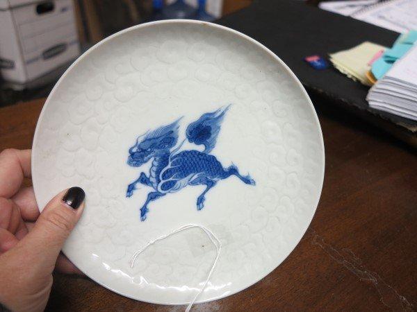 7 Pc. Lot of Blue & wh Porcelain - 3