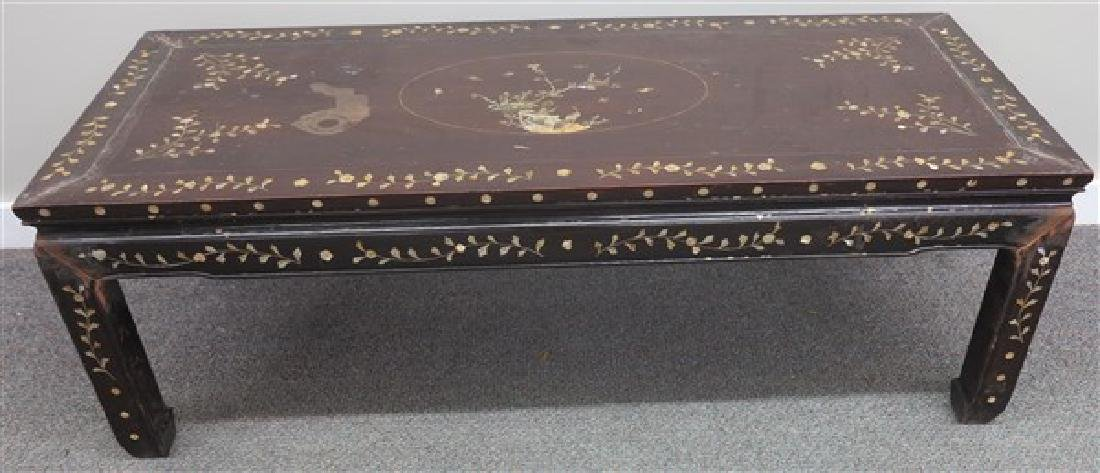 MOP Inlaid Coffee Table