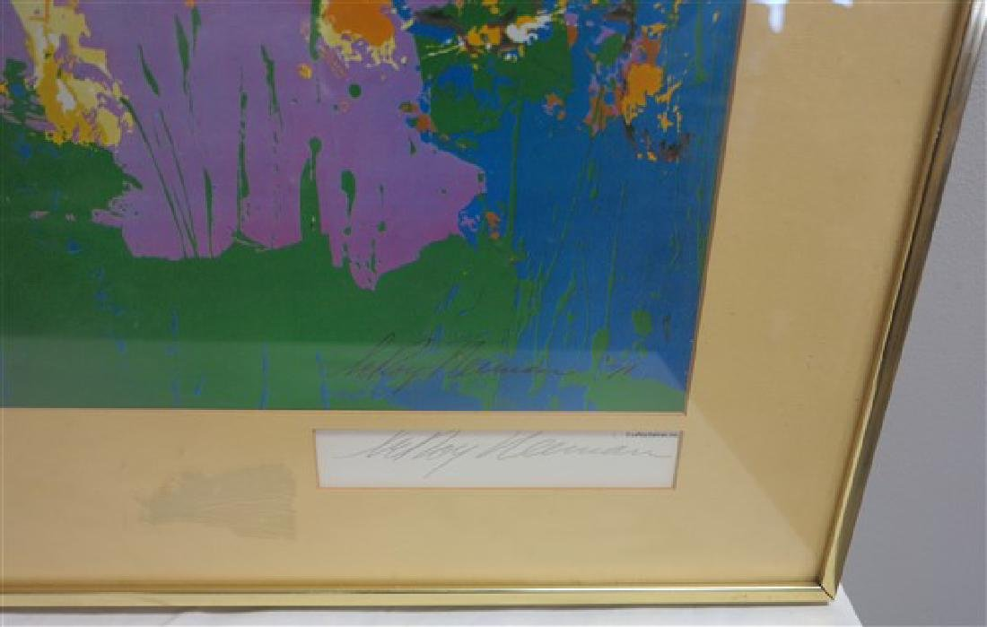 Signed Leroy Neiman Print- 1971 - 2