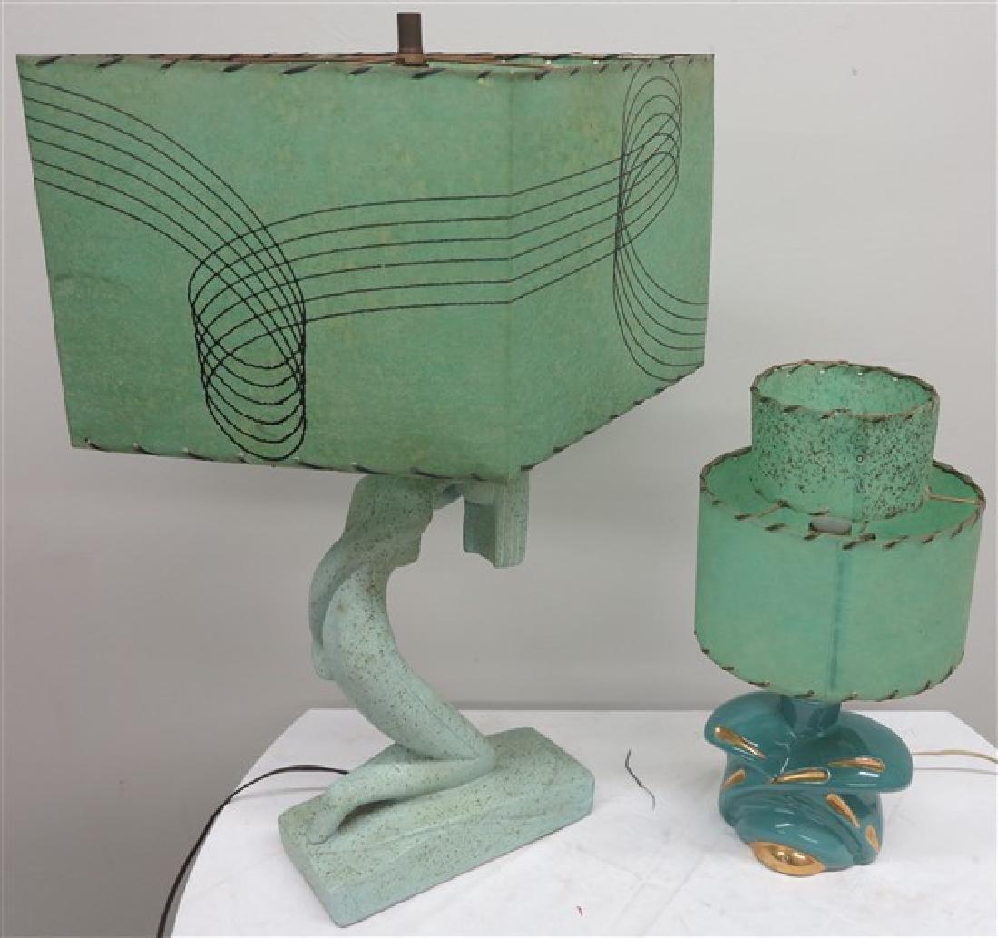 2 Mid Century Lamps