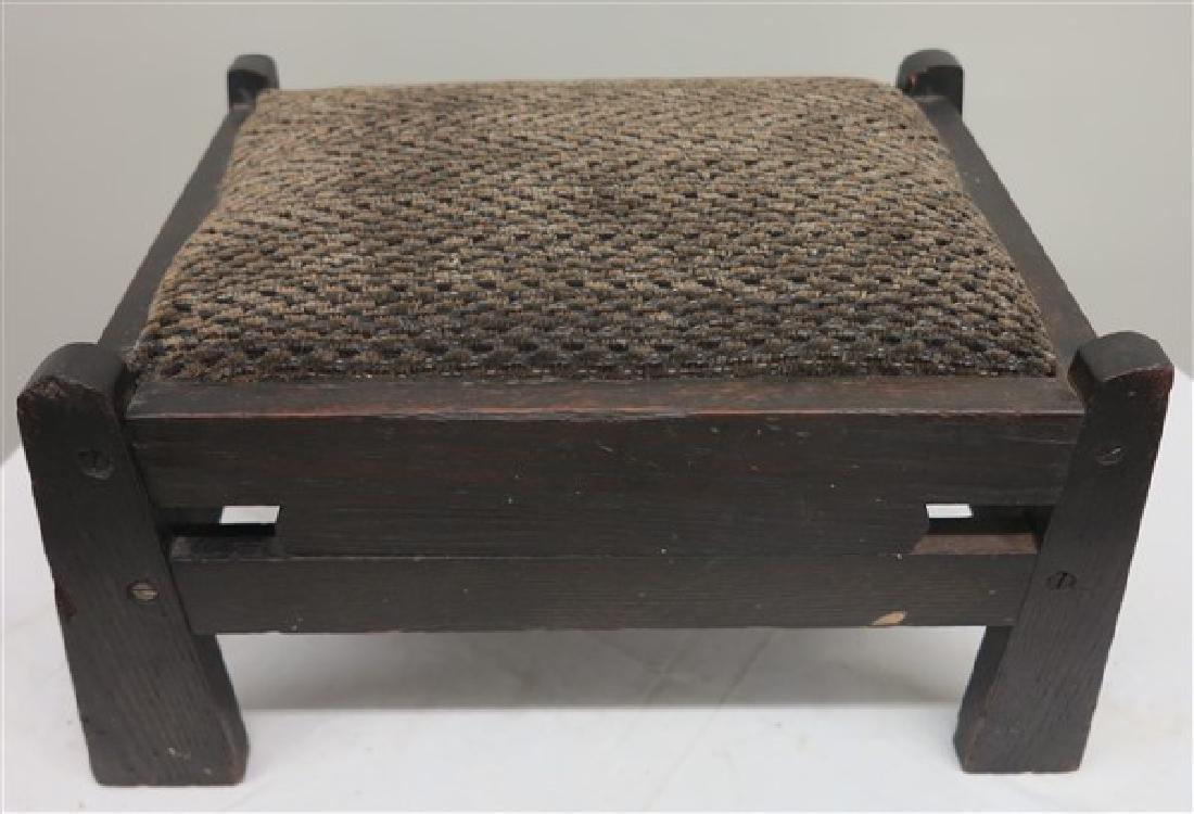 Arts & Craft Footstool