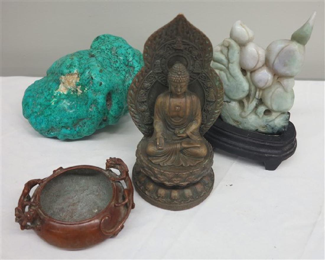 4 Pc Lot of Interesting Orientalia