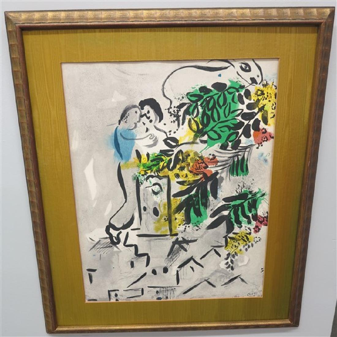 2 Framed Chagall Style Prints