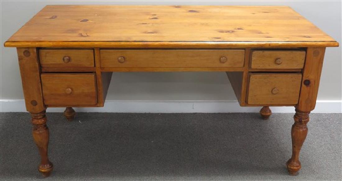 Custom Made Pine Desk