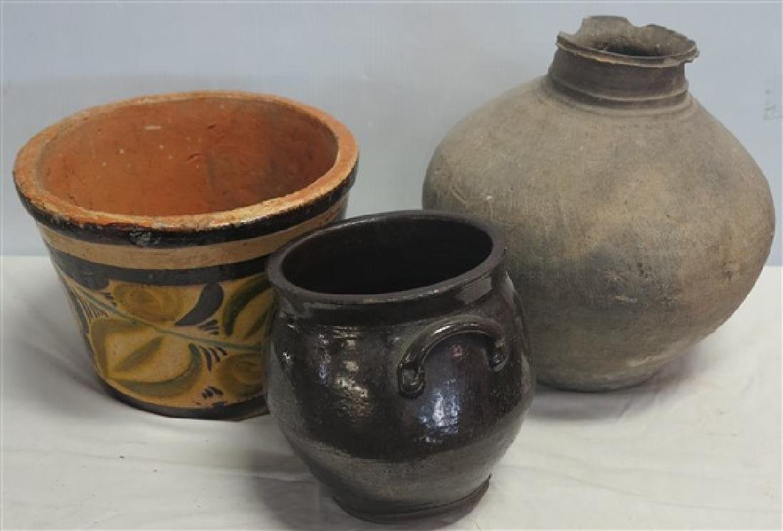 3 Piece Pottery Lot