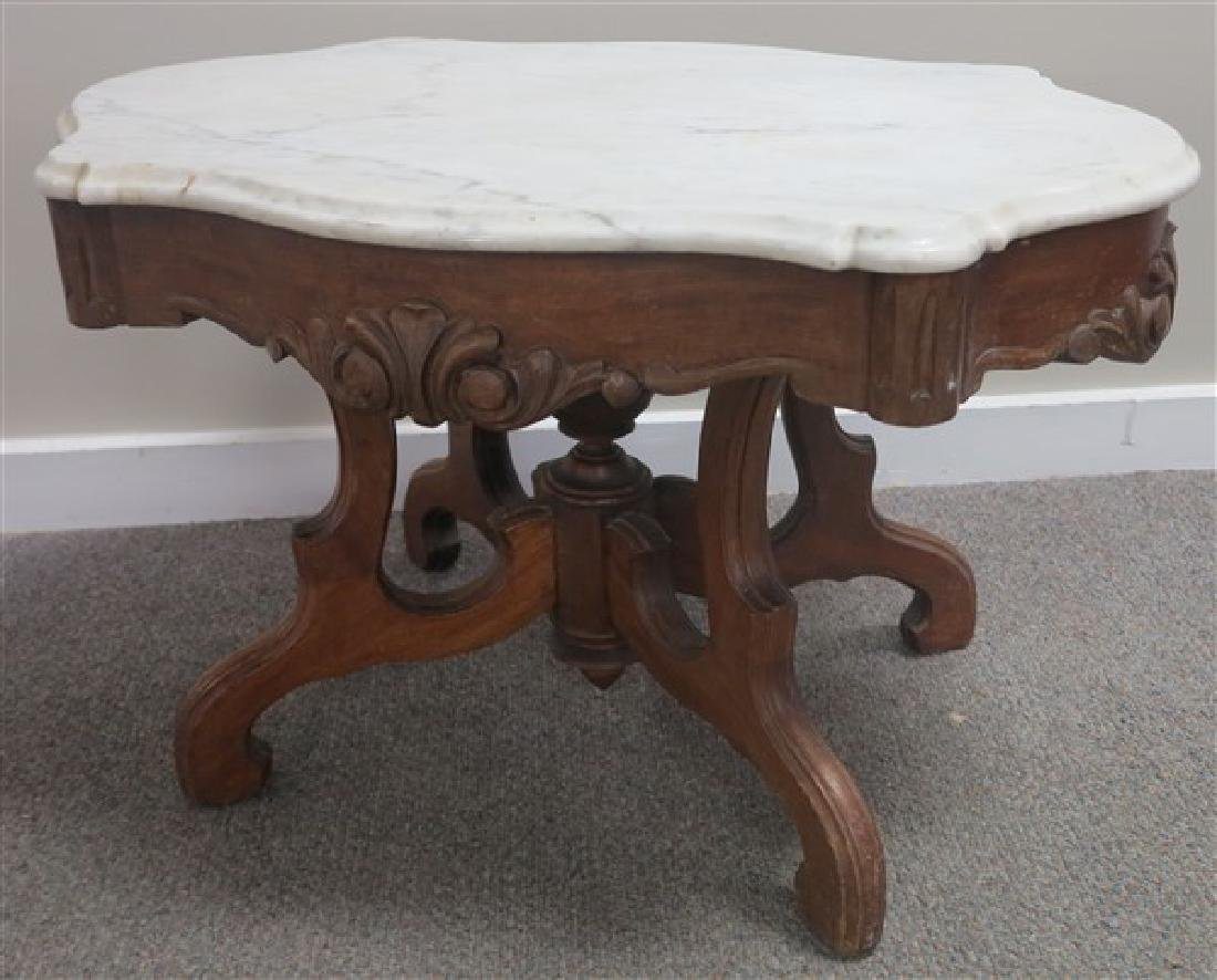 Victorian Turtle Top Coffee Table