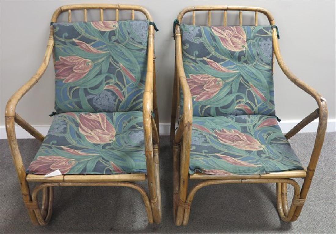 Pr. Rattan chairs