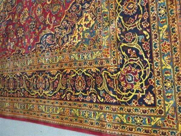 """Fine Persian Kashan 8'4"""" x 11'1"""" - 2"""