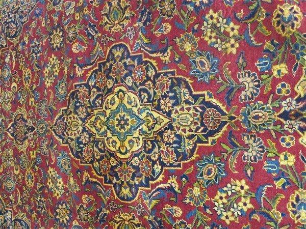 """Fine Persian Kashan 8'4"""" x 11'1"""" - 3"""
