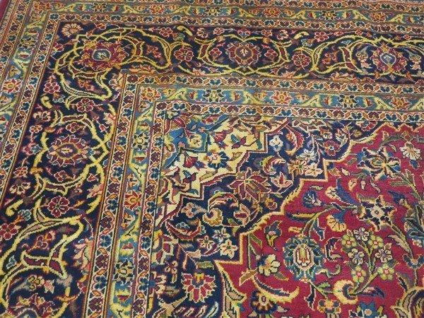 """Fine Persian Kashan 8'4"""" x 11'1"""" - 4"""