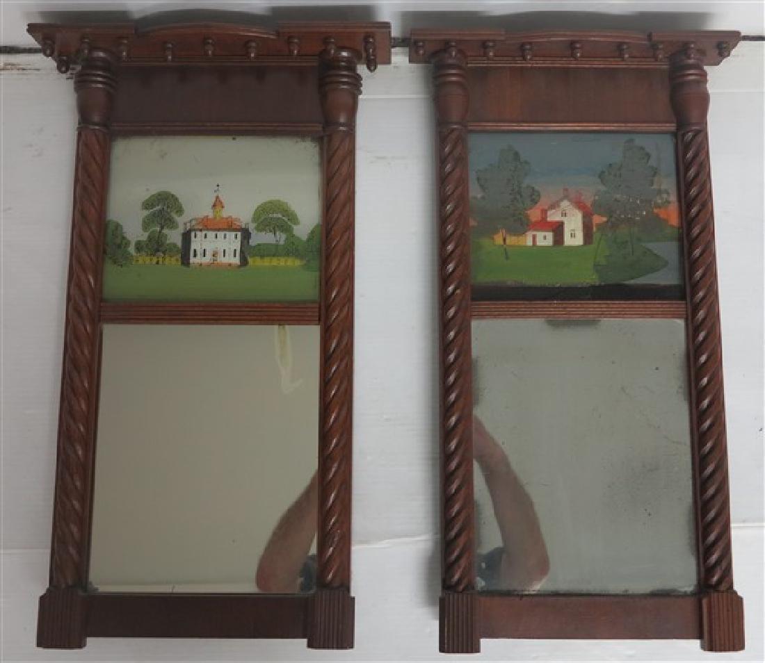 3 19th Century American Mirrors