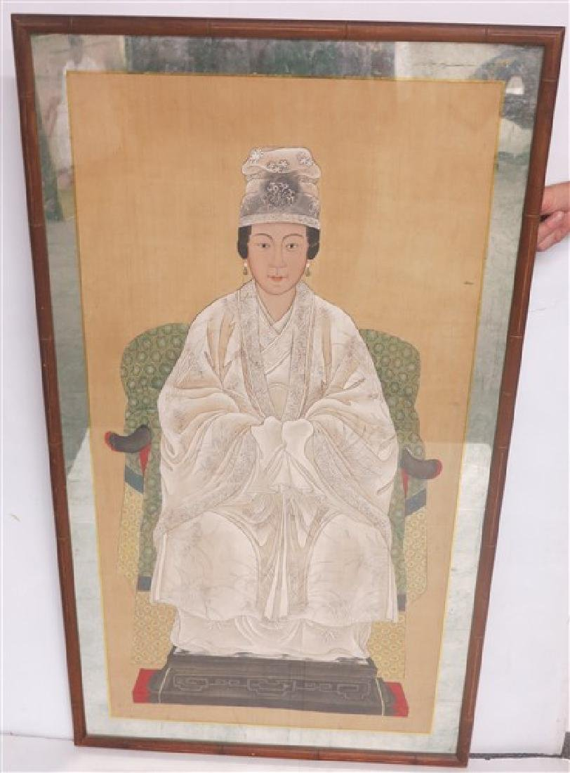 Lady in White- Portrait