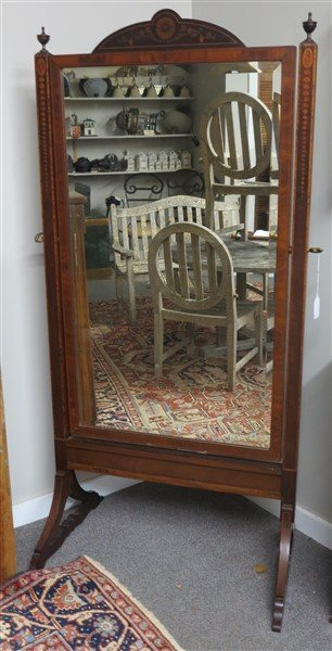 Inlaid Cheval Mirror