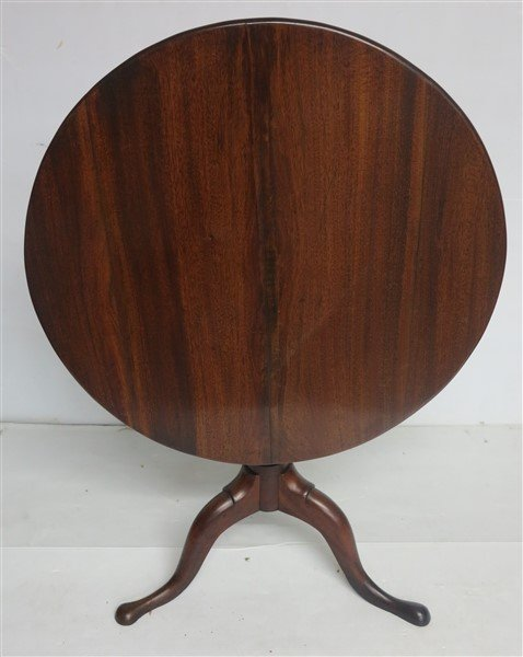 Extra Grade 19th Cent American Tip-top Tea Table