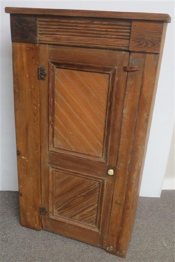 19th Cent 1 Door Cupboard