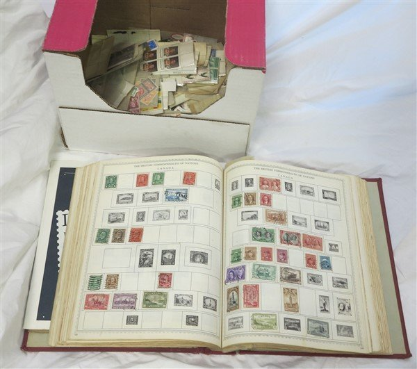 lot of stamps