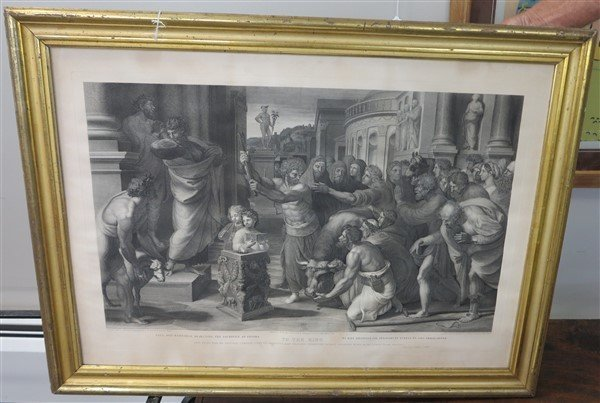 Large Print in Gilt Frame