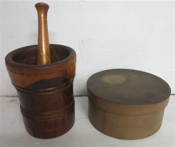 Mortar & Pestle & Pantry Box