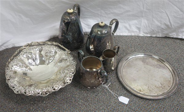 Misc lot of Silver Plate