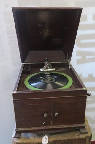 table top Victrola - 2