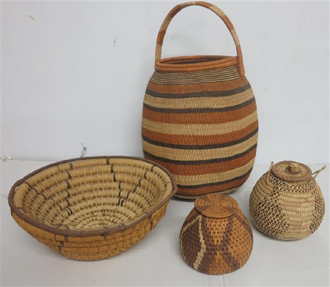Group of 5 Baskets