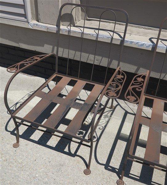 5 pc Iron Furniture - 2