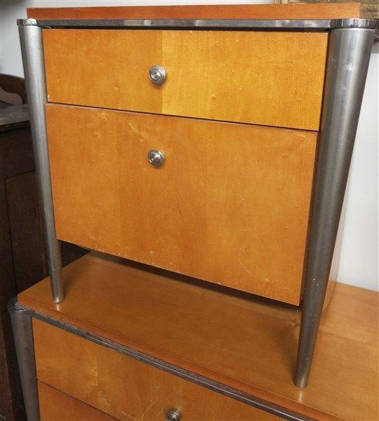 Bedroom set 6 drawer dresser & 2 night tables - 2