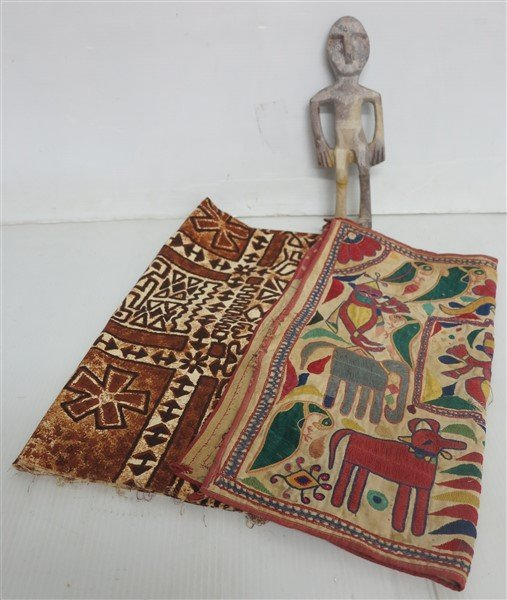 Decorative Textiles & figure