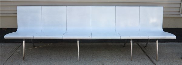 Long Molded Bench