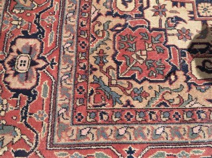 9' X 12' Persian with wear - 3